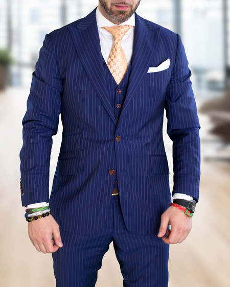 Bespoke Suit - the Gekko Style | ICON BESPOKE