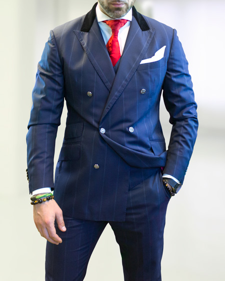 Bespoke Suit - the Wolf Style | ICON BESPOKE