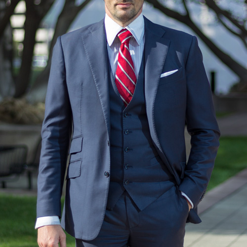 Bespoke Suit - Young Gun Style | ICON BESPOKE