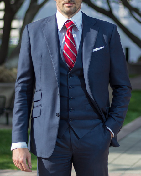 Bespoke Suit - The Young Gun Style | ICON BESPOKE